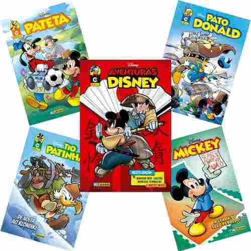 Kit Com 3 Cx Box Especial 5 Novas Edições Disney 2019 Nº 1  - Vitoria Esportes
