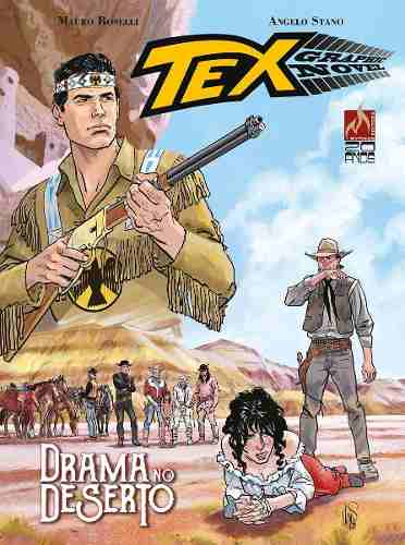 Revista Hq Gibi -tex Graphic Novel Drama No Deserto - Vol 3  - Vitoria Esportes