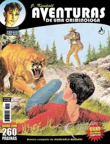 Revista Hq Gibi - Julia Kendall 122 - Coragem de Matar  - Vitoria Esportes