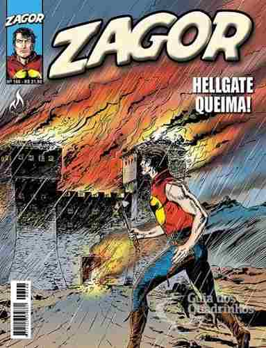 Hq Gibi - Zagor 166 - Hellgate Queima!  - Vitoria Esportes