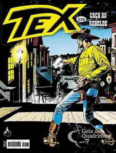Revista Hq Gibi - Tex Mensal 539 - Caça Ao Rebelde  - Vitoria Esportes