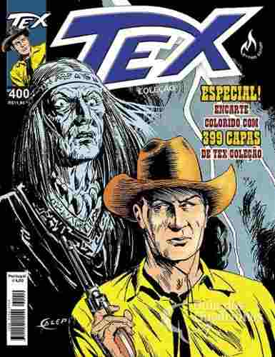Revista Hq Gibi - Tex Coleção 400 - A Feiticeira - C/ Encarte  - Vitoria Esportes