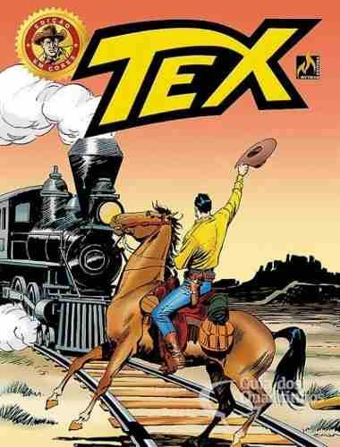 Hq Gibi - Tex Em Cores 34 - Trilhos Da Morte  - Vitoria Esportes
