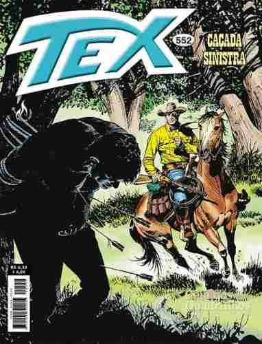 Revista Hq Gibi - Tex Mensal 552 - Caçada Sinistra  - Vitoria Esportes