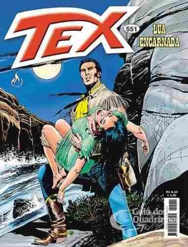 Revista Hq Gibi - Tex Mensal 551 - Lua Encarnada  - Vitoria Esportes