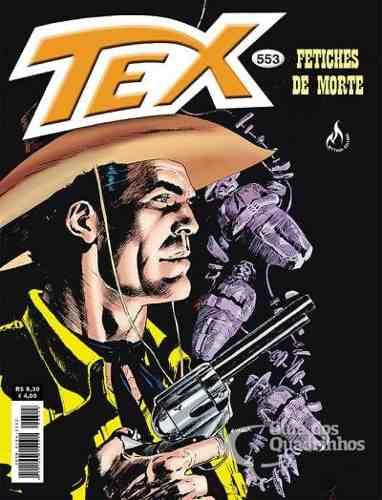 Revista Hq Gibi - Tex Mensal 553 - Fetiche Mortal  - Vitoria Esportes