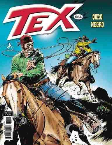 Revista Hq Gibi - Tex Mensal 554 - Ouro Negro  - Vitoria Esportes