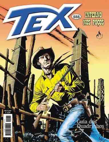 Revista Hq Gibi - Tex Mensal 555 - Inferno Nos Poços  - Vitoria Esportes