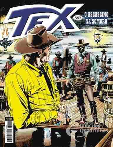 Revista Hq Gibi - Tex Mensal 557 - O Assassino Na Sombra  - Vitoria Esportes