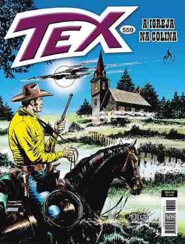 Revista Hq Gibi - Tex Mensal 559 - A Igreja Na Colina  - Vitoria Esportes
