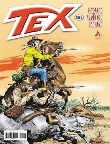 Revista Hq Gibi - Tex Mensal 561 - Caçado Vivo Ou Morto  - Vitoria Esportes