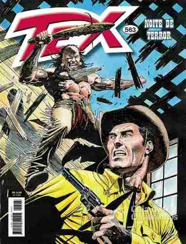 Revista Hq Gibi - Tex Mensal 563 - Noite De Terror  - Vitoria Esportes