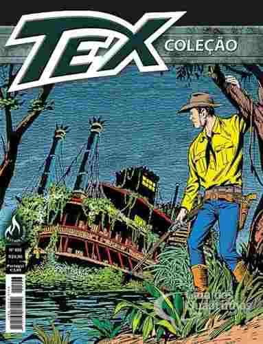 Revista Hq Gibi - Tex Coleção 406 - O Covil No Pântano