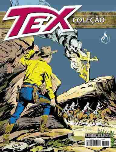 Revista Hq Gibi - Tex Coleção 403 - A Cruz Flamejante  - Vitoria Esportes