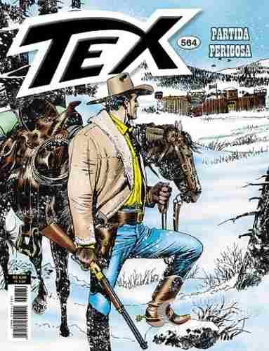 Revista Hq Gibi - Tex Mensal 564 - Partida Perigosa  - Vitoria Esportes