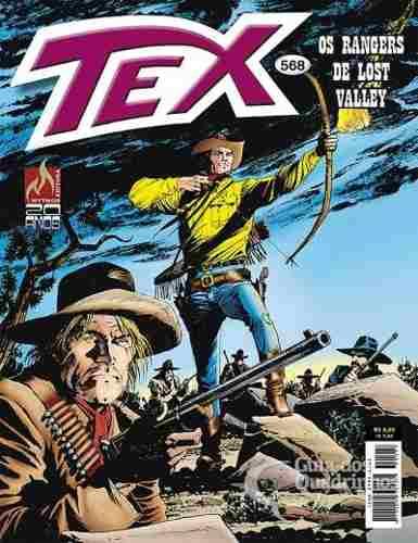 Revista Hq Gibi - Tex Mensal 568 - Os Rangers De Lost Valley  - Vitoria Esportes