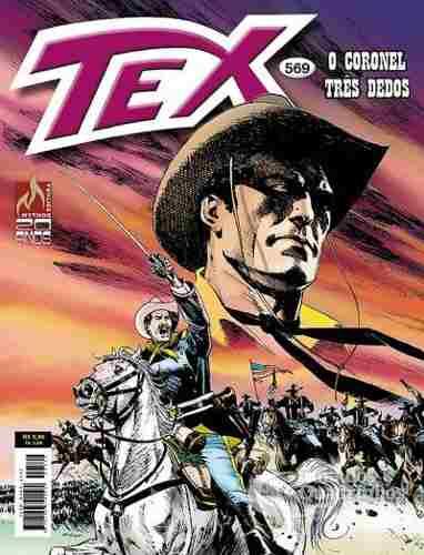 Revista Hq Gibi - Tex Mensal 569  - O Coronel Três Dedos  - Vitoria Esportes