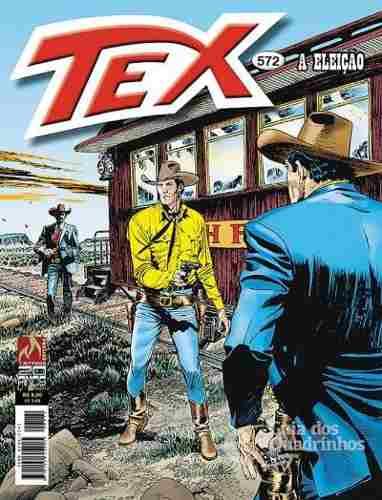 Revista Hq Gibi - Tex Mensal 572 - A Eleição  - Vitoria Esportes