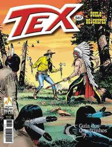 Revista Hq Gibi - Tex Mensal 567 - Duelo De Chefes  - Vitoria Esportes