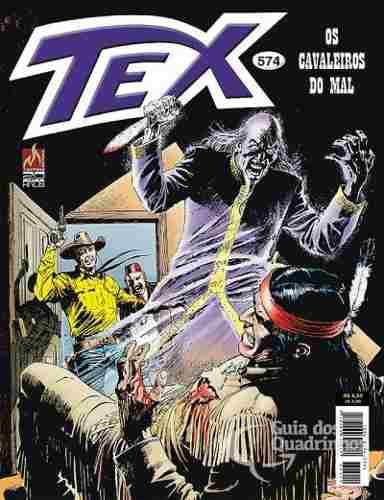 Revista Hq Gibi - Tex Mensal 574 - Os Cavaleiros Do Mal  - Vitoria Esportes
