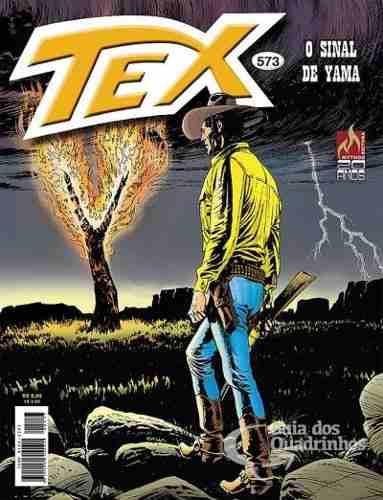 Revista Hq Gibi - Tex Mensal 573 - O Sinal De Yama  - Vitoria Esportes