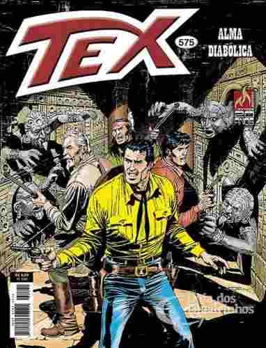 Revista Hq Gibi - Tex Mensal 575 - Alma Diabólica  - Vitoria Esportes