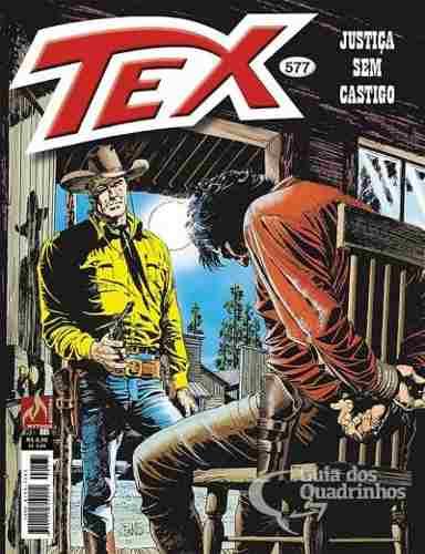 Revista Hq Gibi - Tex Mensal 577 - Justiça Sem Castigo  - Vitoria Esportes