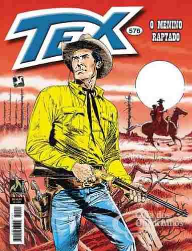 Revista Hq Gibi - Tex Mensal 576 - O Menino Raptado  - Vitoria Esportes