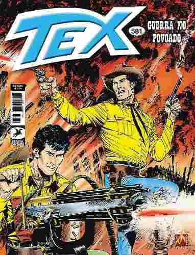 Revista Hq Gibi - Tex Mensal 581 - Guerra No Povoado  - Vitoria Esportes