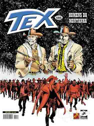 Revista Hq Gibi - Tex Mensal 585 - Homens Da Monha  - Vitoria Esportes