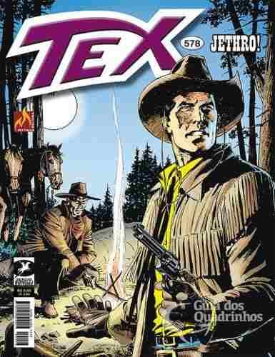Revista Hq Gibi - Tex Mensal 578 - Jethro!  - Vitoria Esportes