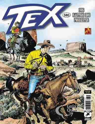 Revista Hq Gibi - Tex Mensal 580 - Nos Rastros Dos Forrester  - Vitoria Esportes