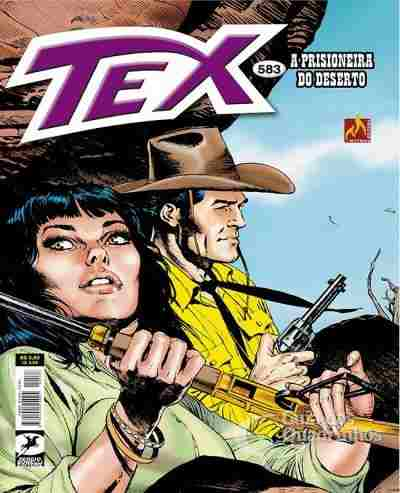 Revista Hq Gibi - Tex Mensal 583 - A Prisioneira Do Deserto  - Vitoria Esportes