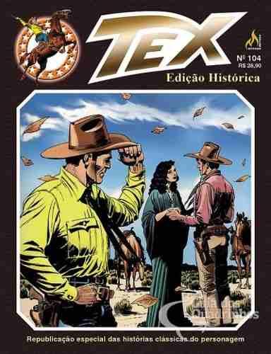 Hq Gibi Tex Edição Historica 104 Nas Terras Do Sul  - Vitoria Esportes