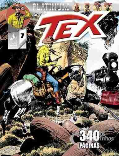 Hq Gibi - Tex Platinum 07 - O Trem Blindado  - Vitoria Esportes