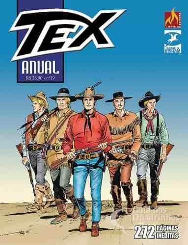 Revista Hq Gibi - Tex Anual 19 - O Nascimento De Um Herói  - Vitoria Esportes