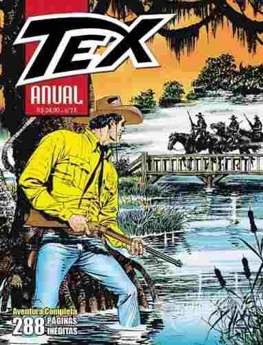 Revista Hq Gibi - Tex Anual 18 - A Ponte Do Destino  - Vitoria Esportes