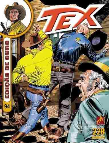 Revista Hq Gibi - Tex Ouro 94 - O Diadema Indígena  - Vitoria Esportes