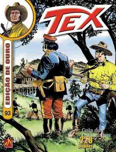Revista Hq Gibi - Tex Ouro 93 - O preço da honra  - Vitoria Esportes