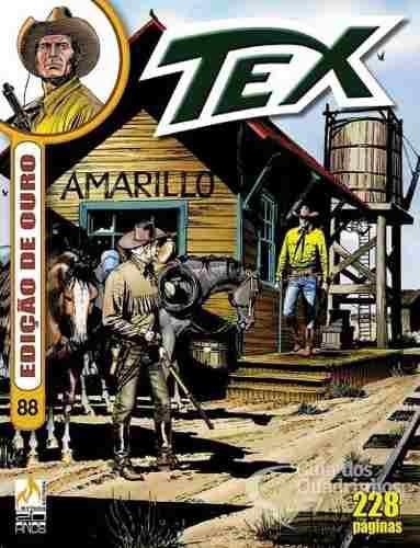 Revista Hq Gibi - Tex Ouro 88 - Alma Envenenada  - Vitoria Esportes