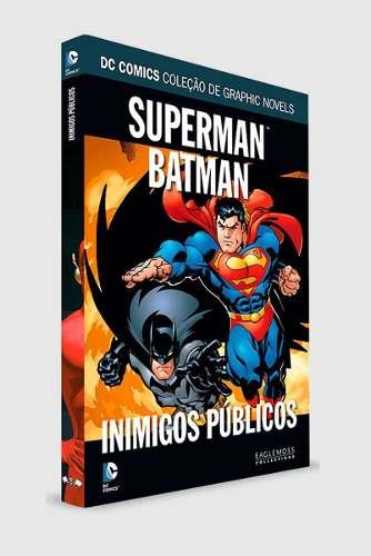 Superman & Batman - Inimigos Públicos Dc Comics  - Vitoria Esportes