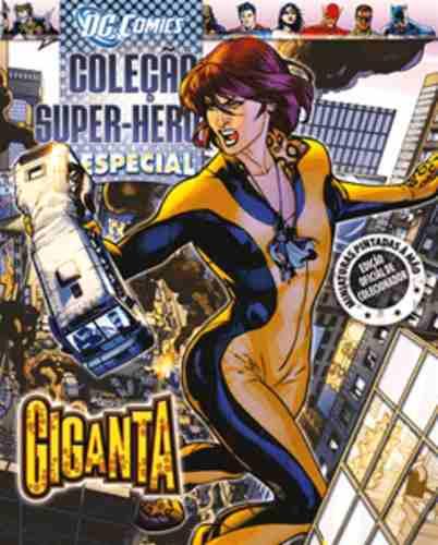 Revista Dc Comics Edição Especial - Giganta Eaglemoss  - Vitoria Esportes