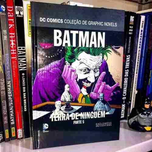 Batman Terra De Ninguém Coleção Dc Graphic Novels -parte 5  - Vitoria Esportes