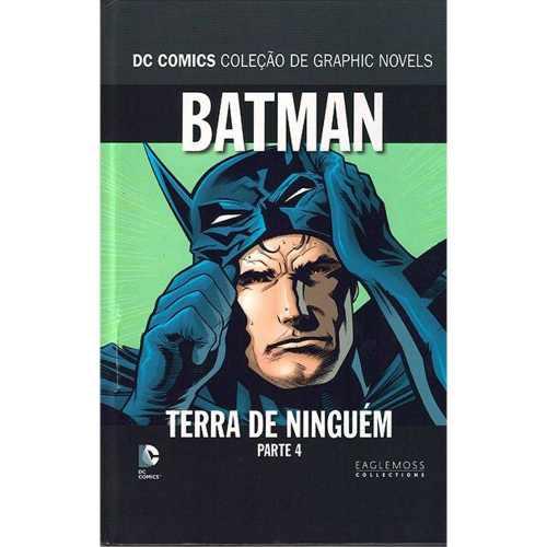 Batman Terra De Ninguém Coleção Dc Graphic Novels - Parte 4  - Vitoria Esportes