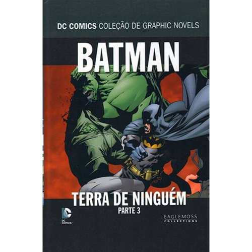 Batman Terra De Ninguém Coleção De Graphic Novels - Parte 3  - Vitoria Esportes