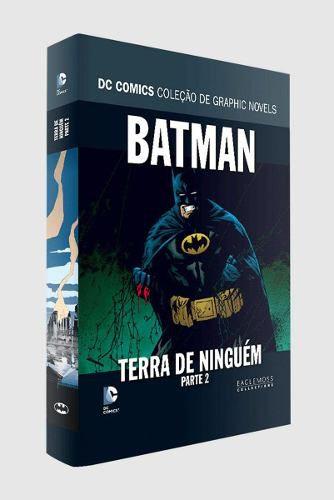 Batman - Terra De Ninguém Parte 2. Coleção Dc Graphic Novels  - Vitoria Esportes