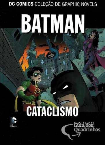 Batmam Cataclismo - Coleção Dc Graphic Novels  - Vitoria Esportes
