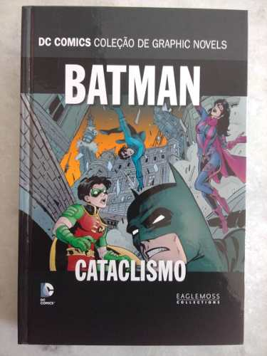 Batman Terra De Ninguém Coleção Dc Graphic Novels - Cataclismo Parte 0  - Vitoria Esportes