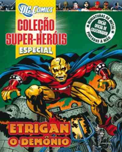 Revista Dc Comics Edição Especial - Etrigan Eaglemoss  - Vitoria Esportes