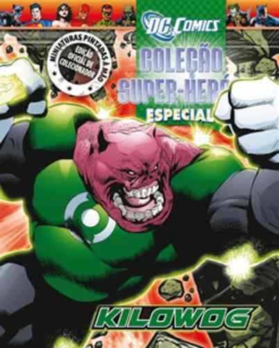 Revista Dc Comics Edição Especial - Kilowog Eaglemoss  - Vitoria Esportes